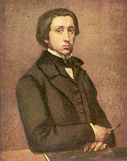 Edgar Degas: Önarckép, 1855