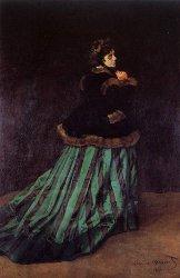 Monet -  Camille zöld ruhában