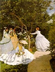 Monet - Femmes au Jardin