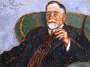 Szinyei Merse Pál arcképe (Rippl-Rónai József festménye, 1911)