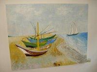 Van Gogh: Halász hajó_200x