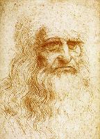 Leonardo da Vinci: Önarckép