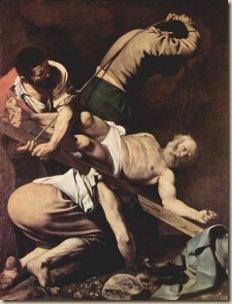 Szent Péter keresztre feszítése