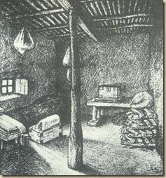 Csoma szobája Zanglában