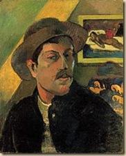 Gauguin-Kalapos-önarckép_1893