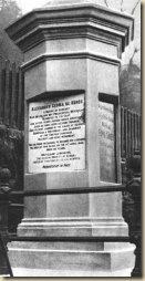 Kőrösi Csoma Sándor útvonala · Az emlékoszlop Dardzsilingben