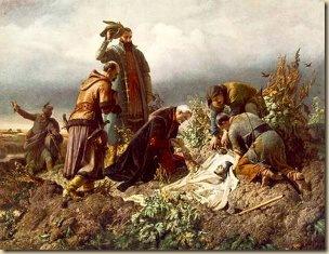 Székely Bertalan II. Lajos holttestének megtalálása 1860