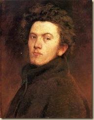 Székely Bertalan- Önarckép,1860