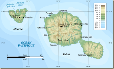 Tahiti and Moorea