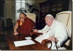 II. János Pál és Lama