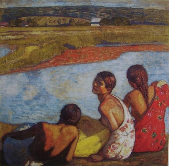 Iványi Grünwald Béla: Cigányok a Lápos patak partján