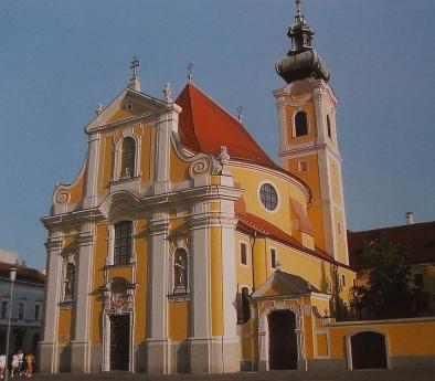 kelenyi-171.Gy%F5r, karmelita templom