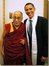Lama és Obama