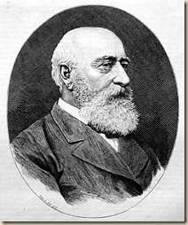 Teleki Sándor portréja. Pollák Zsigmond metszete