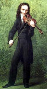 Paganini 1830 körül