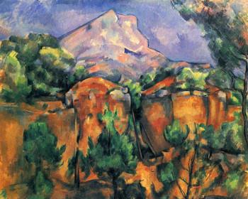 Paul_Cézanne_Montagne Sainte-Victoire (1891)