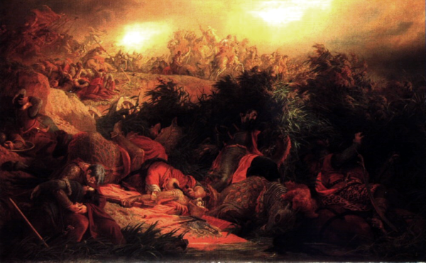 csata5_Szekely_Bertalan_Mohacsi csata_1866