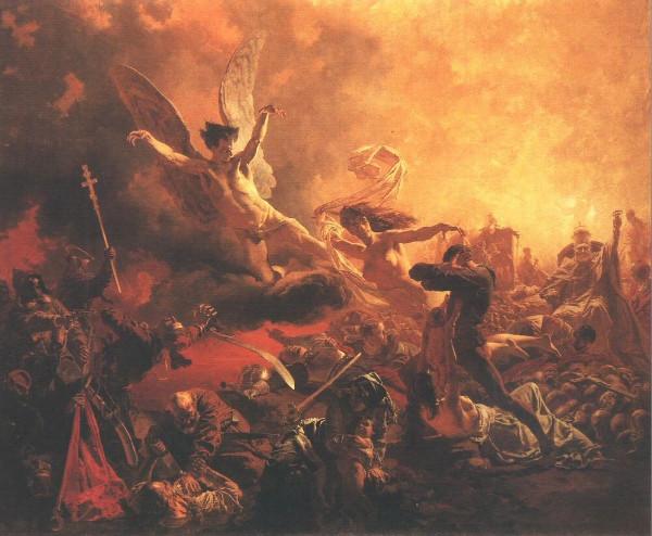Zichy Mihály: A rombolás géniuszának diadala