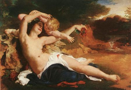Brocky,_Karoly_-_Venus_and_Amor_(1850)