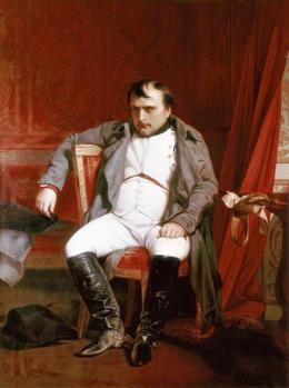 Napoleon Emperor Defeated at Fontainebleau
