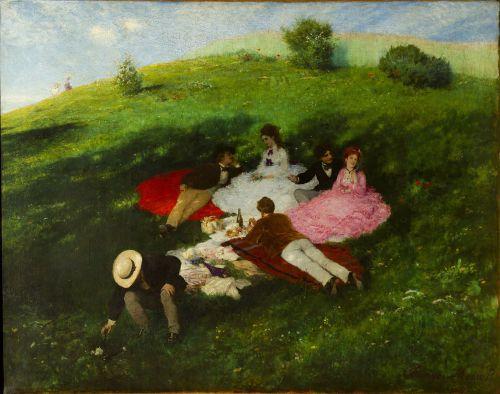 Szinyei Merse Pál – Majális (1873)