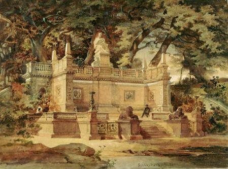 Batthány mauzoleum_terv