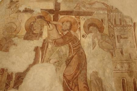 Feltárt_Anjou-kori_freskó_részlet_a_felvinci_református_templomban_1000x