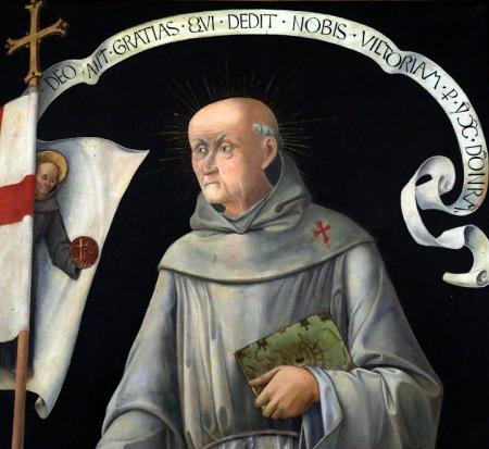 Kapisztrán Szent János (festmény-részlet, Pannonhalma)