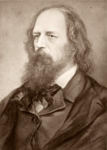 Alfred Lord Tennyson (portrait by P. Krämer-Friedrich Bruckmann)