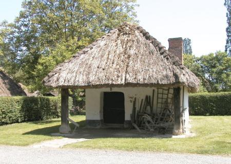 Hottói kovácsműhely a Göcseji Falumúzeumban