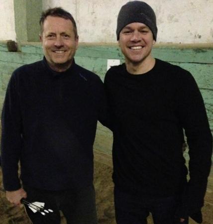 kassai Lajos és Matt Damon