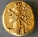 Achaemenid_coin_daric_420BC_front