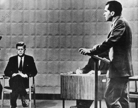 J.F.Kennedy und Richard M.Nixon 1960 - J.F.Kennedy & Richard M.Nixon / 1960 -