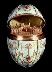 Mini aranypalota (Fabergé-tojás)