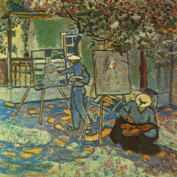 Czóbel Béla: Festők a szabadban