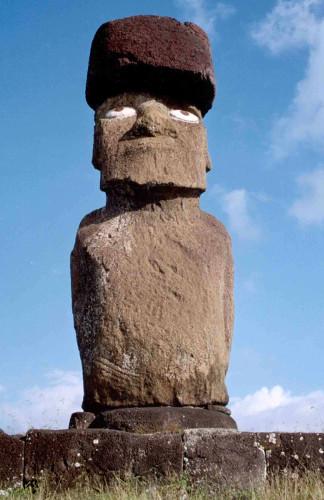 restored moai
