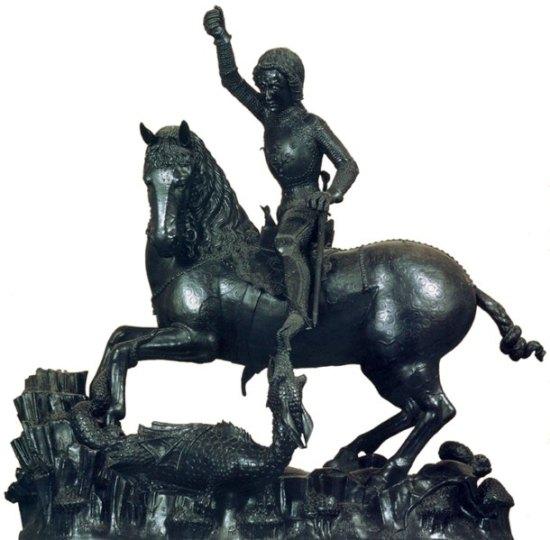 Szent György szobor