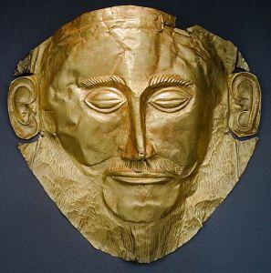 Agamemnon halotti maszkja