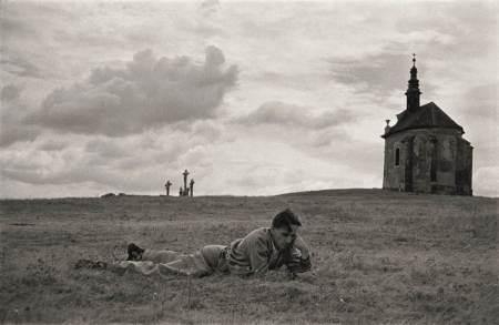 Zsigmond_Vilmos világa, Kálvária domb, Tata, Magyarország 1955