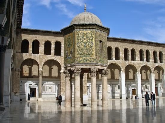 Omajjád-mecset kincstára