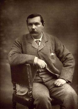 Conan Doyle portré