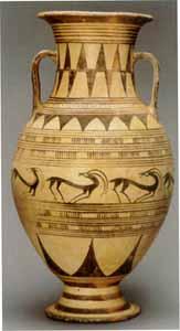 etruszk amfora
