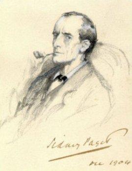 Serlock Holmes portré