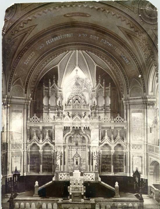 Szeged, Zsinagóga belső
