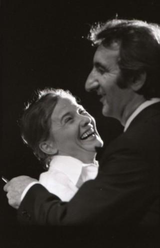 Fejes Endre: Cserepes Margit házassága Huszonötödik Színház, 1976 Törőcsik Mari, Garas Dezső Fotó: Korniss Péter