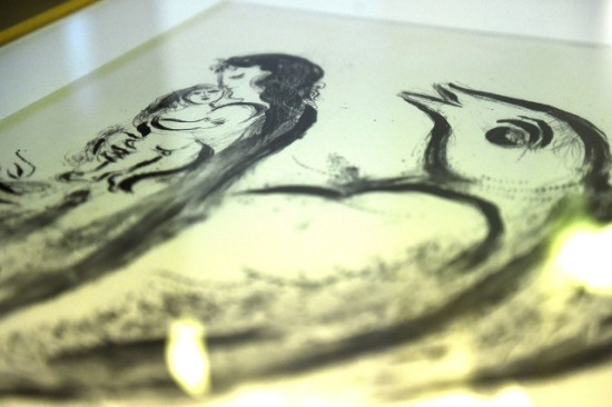 Chagall grafika