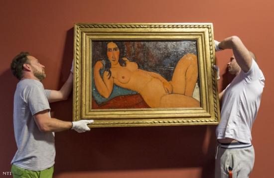 Modigliani kiállítás