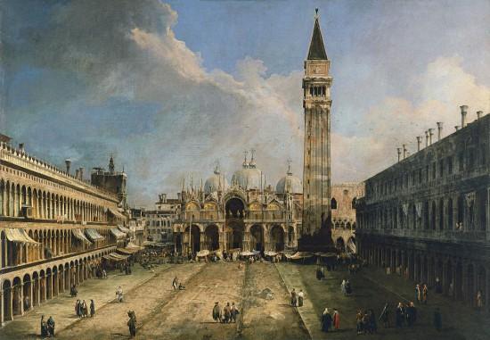 Canaletto: Szent Márk tér Velence
