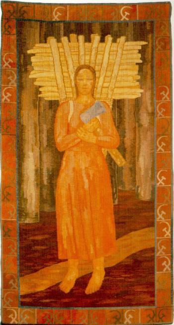 Ferenczy Noémi: Rőzehordó nő
