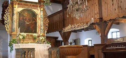 nemeskér, evangélikus templom